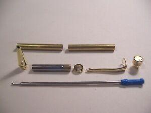 20 Gold Slimline Pen Kits 2nds  #952