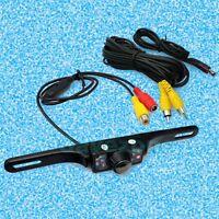 New 7 IR LED Night Vision Car Rear ViewReversing Backup Number Plate Camera