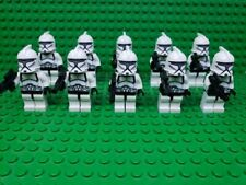 Star Wars White Clone Trooper Set + Blasters Lot of 10 for Lego