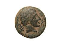 Monedas Ibericas: Secaisa. Unidad, s. II a.c., 150 a.c. Aprox.