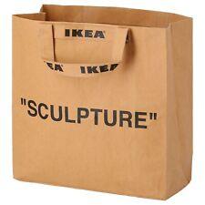 "Ikea Markerad Carrier Bag Medium 33L ""SCULPTURE"" Virgil Abloh New"