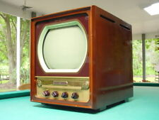 "Vintage 1940's Ge, General Electric Model 12T1 12"" Table Top Tv"