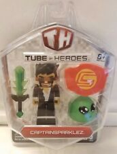 New Tube Heroes YouTube - Captainsparklez Action Figure Toy w/ Accs (2015)