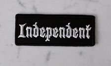 Independent EMBROIDERED IRON ON PATCH Aufnäher Parche brodé patche toppa No Club
