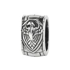 Adler 15018371001 Rebeligion Silber Charm f Lederarmband Black Rock Large Bead