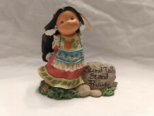 "Vtg Enesco 926183 Friends of the Feather ""Stand Tall"" by Karen Hahn 2001;Nwob"
