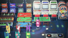 Arcade Gaming Room Furniture Set - 40 Items - Pinball Machines - Fighting Game