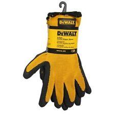 Radians DeWalt DPG70L Textured Rubber Coated Gripper Gloves, Large, 3-Pack