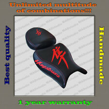 Custom Design Seat Cover Suzuki Hayabusa 08+ black+red 001