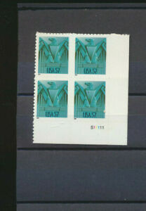 Art Deco Eagle Block #3471A Mint Never Hinged 2001