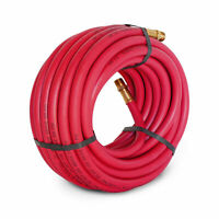 Steelman 50-ft 3/8 in. 300 PSI Air Hose with 3/8 in. Male NPT Fittings 50050-IND