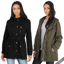 Abrigos y chaquetas de mujer Chubasquero color principal negro