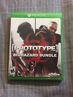 Prototype Biohazard Bundle (Microsoft Xbox One, 2016) Video Game TESTED