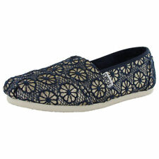 Textured Canvas Espadrille Flats for Women