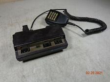 Motorola Syntor 9000 Xx A Model Control Head With Dtmf Sure Palm Mic Hcn1007a