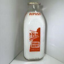 Vintage Quart Milk Jug