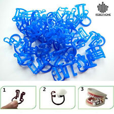 50pcs Dental Materials Dental Coil Clamp Oral Care Dentist Disposable Clip