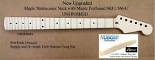 New Unfinished Stratocaster Maple Neck with Maple Fretboard