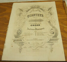 1865 Sheet Music//PRAISE YE THE LORD! by Ludwig van Beethoven