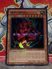 Carte YU GI OH OGRE ROUGE WGRT-FR025