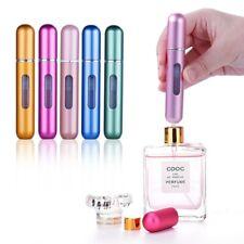 5ml Portable Travel Mini Storage Bottle Aluminum Refillable Spray Perfume refill