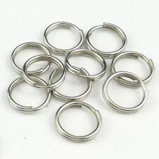 20mm 316 Stainless Steel Key Rings HEAVY DUTY Split Fishing Scuba 10 pack 3/4