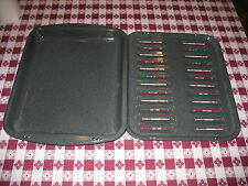 "Whirlpool Range RF368 Parts OVEN BROILER PAN / insert Enamel Not used 11"" x 14"""