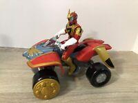 Vintage Power Rangers Mystic Force Dragon Tracker w/ Red Ranger 2006 Bandai Used