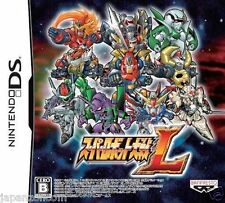 Used DS  Super Robot Taisen L NINTENDO JAPANESE IMPORT