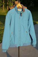 Vintage LL Bean Coat Jacket Parka Puffer Mens Blue XL outdoor camping hiking zip