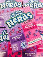 Wonka Nerds Grape & Strawberry Candy 72 Packs Gift Set FREE SHIPPING