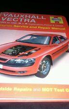 Haynes workshop manual. Vauxhall Vectra. 1995 to 1998. Petrol and diesel.