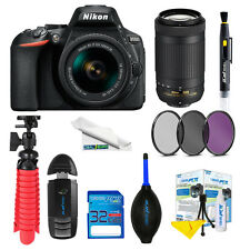 Nikon D5600 DSLR Camera with 18-55mm and 70-300mm Lenses + Expo-Deluxe Kit