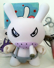 "DUNNY 3"" SERIES 4 FRANK KOZIK WHITE CLOCKWORK GOLDEN TICKET KIDROBOT TOY"