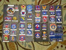 Korean - Vietnam War Era USAF CAP Civil Air Patrol Squadron & Patch Lot (#34)