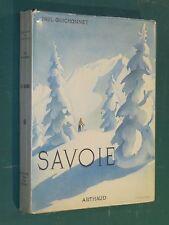 """Savoie Paul GUICHONNET couv. SAMIVEL """"Les beaux Pays"""" Arthaud"""