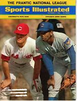 1969 (Sep.8) Sports Illustrated, Magazine, Baseball, Ernie Banks, Pete Rose~VGLR