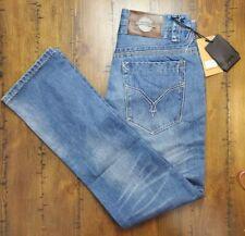 DOLCE & GABBANA Denim Legend Womens Size 32x31 Jeans Button Fly Straight Leg