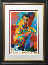 "LeRoy Neiman ""Muhammad Ali Athlete of the Century"" FRAMED Lithograph HAND SIGNED"