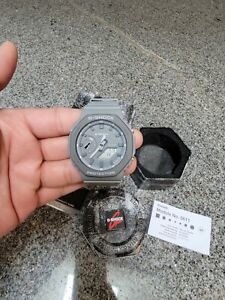 "*READ* US Seller Casio G-Shock ""Casio Oak"" Grey Carbon Core GA2110ET-8A"