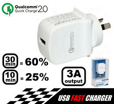 QC2-AC1 Quick Charge 2.0 Charger 3 Amp max. 5V DC USB Output Power Supply