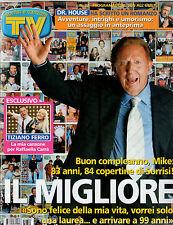 TV SORRISI E CANZONI=N°22 26/5/2007=JOHNNY DEPP=LEWIS HAMILTON=TIZIANO FERRO