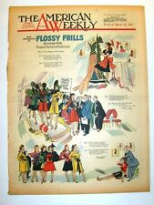 AMERICAN WEEKLY - 3/23/1941 Flossy Frills #9  RUSSELL PATTERSON - Armour's Treet