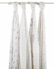 Aden and Anais Night Sky classic muslin Brand New 4 pack