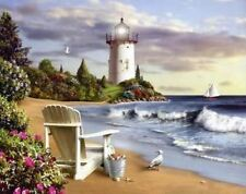 """Counted Cross Stitch Kit """"Tranquil Cove"""" by Andrea's Designs"""