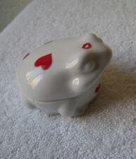 Vintage Valentine Frog Ceramic The Frog Prince Pre Owned Near Mint