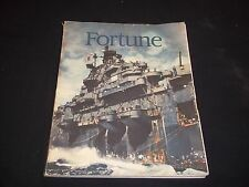 1945 JULY FORTUNE MAGAZINE - BEAUTIFUL ILLUSTRATED FRONT COVER - D 1590