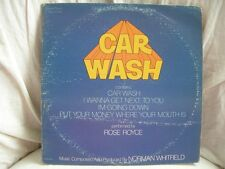VINYL 33T – BOF OST FUNK – CAR WASH – ORIG US 1976 – NORMAN WHITFIELD ROSE ROYCE