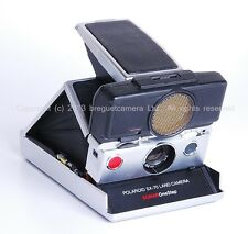 EX++ Polaroid SX-70 Land camera SONAR Onestep Silver
