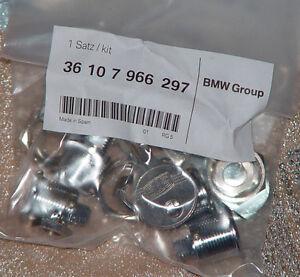 """BMW E65 F01 F02 F06 OEM Alpina 20"""" & 21"""" B6 B7 Wheel Cap Hub Cap Locks Keys New"""